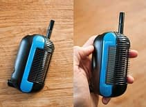 a blue weed vaporizer